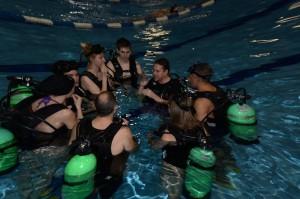 Inititation à la plongée UQAM 2016-01-14